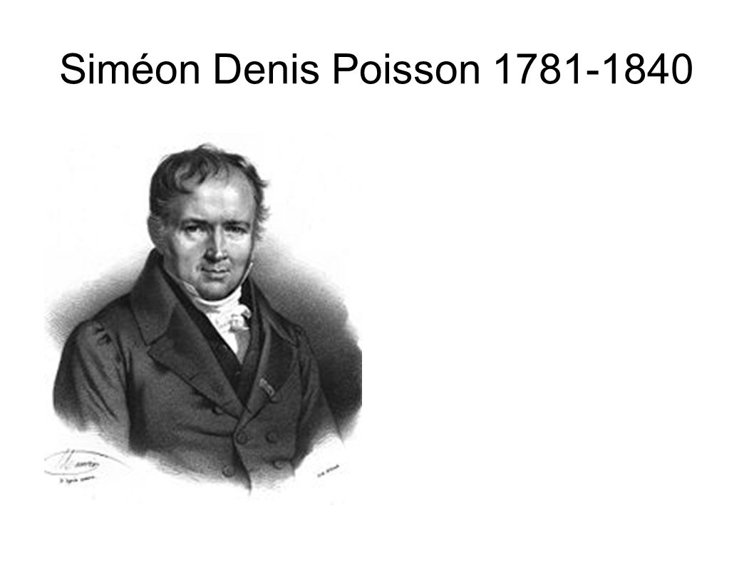 Siméon Denis Poisson