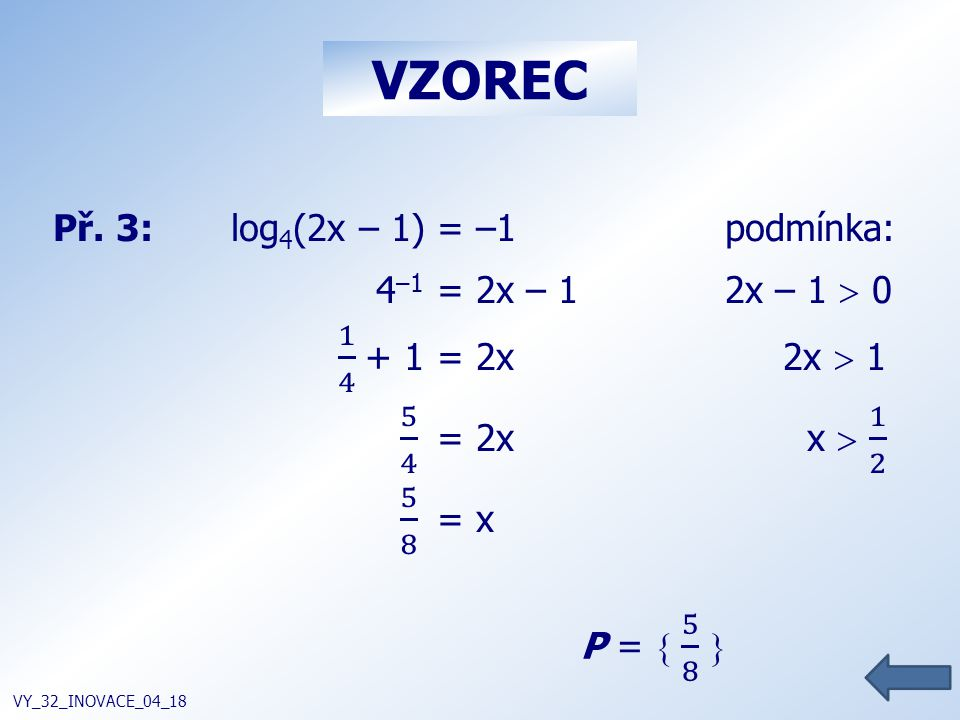 VZOREC VY_32_INOVACE_04_18
