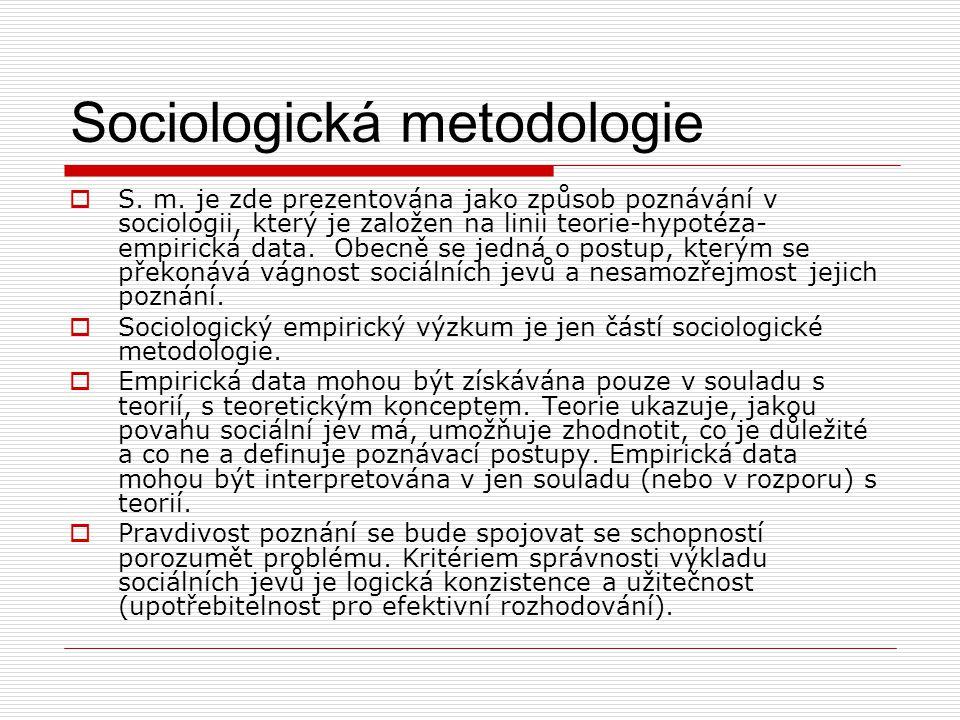 Složitost sociálních jevů  Složitá struktura osobností konkrétních jedinců, kteří se sociálního jevu účastní.