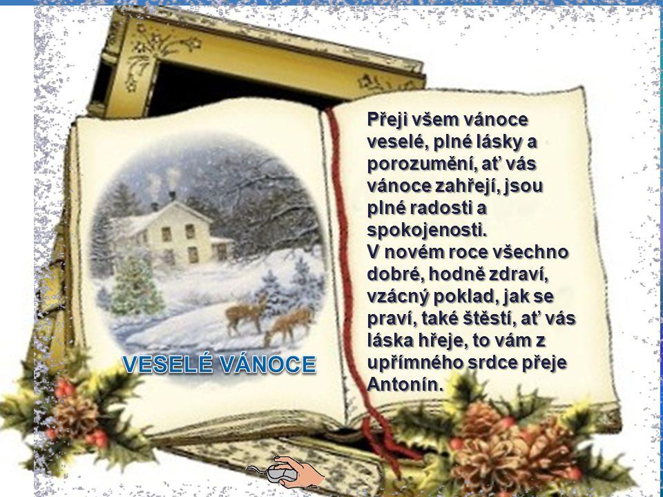 """{ Vánoce nám opravdu klepou na dve ř e, všichni si p ř ejí to nejlepší a na stránkách """"Vyso č anští, je p ř inejmenším smutno."""