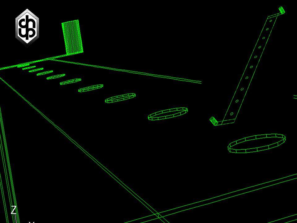 Simulace reaktoru se spacy Vytvořili jsme zjednodušenou 2D geometrii, abychom se naučili simulovat víry směr toku