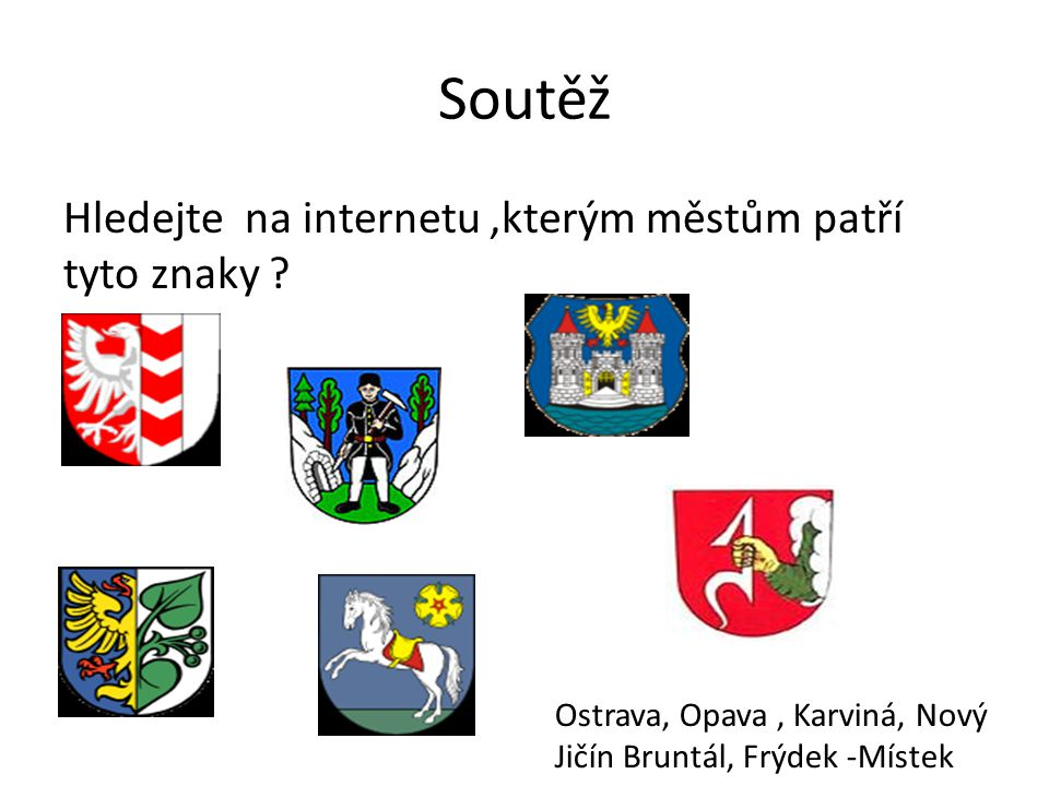 Zdroje: Znak: http://upload.wikimedia.org/wikipedia/commons/thumb/f/fa/Moravian-Silesian_Region_CoA_CZ.svg/90px- Moravian-Silesian_Region_CoA_CZ.svg.pnghttp://upload.wikimedia.org/wikipedia/commons/thumb/f/fa/Moravian-Silesian_Region_CoA_CZ.svg/90px- Moravian-Silesian_Region_CoA_CZ.svg.png Mapa : http://upload.wikimedia.org/wikipedia/commons/thumb/5/50/2004_Moravskoslezsky_kraj.PNG/240px- 2004_Moravskoslezsky_kraj.PNGhttp://upload.wikimedia.org/wikipedia/commons/thumb/5/50/2004_Moravskoslezsky_kraj.PNG/240px- 2004_Moravskoslezsky_kraj.PNG Vodstvo : http://upload.wikimedia.org/wikipedia/commons/thumb/a/a1/Odra%2C_Ostrava-Koblov.jpg/200px- Odra%2C_Ostrava-Koblov.jpghttp://upload.wikimedia.org/wikipedia/commons/thumb/a/a1/Odra%2C_Ostrava-Koblov.jpg/200px- Odra%2C_Ostrava-Koblov.jpg Příroda : http://upload.wikimedia.org/wikipedia/commons/thumb/0/04/Lys%C3%A1_hora_%28Beskydy_CZE%29_- _view_from_Fr%C3%BDdlant_nad_Ostravic%C3%AD.jpg/250px-Lys%C3%A1_hora_%28Beskydy_CZE%29_- _view_from_Fr%C3%BDdlant_nad_Ostravic%C3%AD.jpghttp://upload.wikimedia.org/wikipedia/commons/thumb/0/04/Lys%C3%A1_hora_%28Beskydy_CZE%29_- _view_from_Fr%C3%BDdlant_nad_Ostravic%C3%AD.jpg/250px-Lys%C3%A1_hora_%28Beskydy_CZE%29_- _view_from_Fr%C3%BDdlant_nad_Ostravic%C3%AD.jpg Doprava: http://upload.wikimedia.org/wikipedia/commons/thumb/7/78/OSRintl.jpg/260px-OSRintl.jpghttp://upload.wikimedia.org/wikipedia/commons/thumb/7/78/OSRintl.jpg/260px-OSRintl.jpg Průmysl:http://upload.wikimedia.org/wikipedia/commons/thumb/f/fd/Darkov.JPG/220px- Darkov.JPGhttp://upload.wikimedia.org/wikipedia/commons/thumb/f/f2/19.8.12_Hnevin_Mostecke_jezero.JPG/220 px-19.8.12_Hnevin_Mostecke_jezero.JPG Slezko :http://upload.wikimedia.org/wikipedia/commons/thumb/7/72/Wappen_Schlesiens.png/150px- Wappen_Schlesiens.png http://upload.wikimedia.org/wikipedia/commons/thumb/4/4b/Silesia_%28Now%29.png/300px- Silesia_%28Now%29.png Osobnosti :http://upload.wikimedia.org/wikipedia/commons/thumb/7/7a/Jankulovski.jpg/220px-Jankulovski.jpg Znak