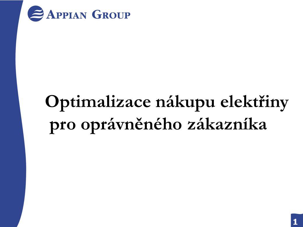 1 Optimalizace nákupu elektřiny pro oprávněného zákazníka