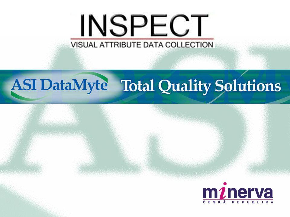 Inspect Reporting Jednoduchý přístup – podniková data o jakosti v reálném čase 100% podpora web prohlížeče Přizpůsobení pro jednotlivé uživatele 68 různých reportů, většina s grafem –Pareto, Sloupcový, Spojnicový a Kruhový –Kontrola (SPC) –Trendy –Historie na jednotku