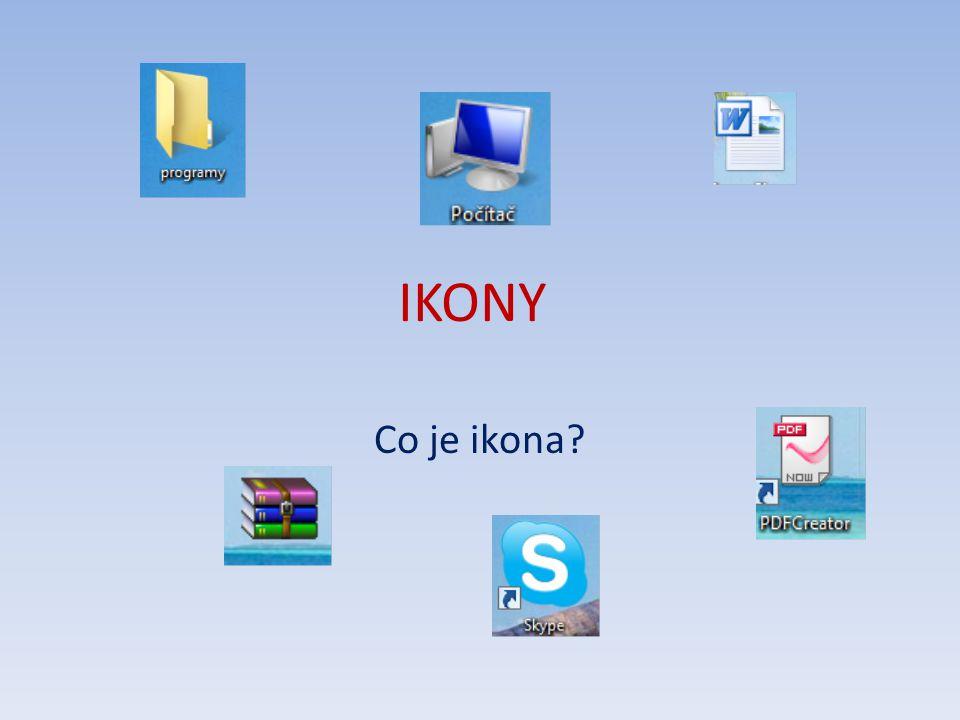 IKONY Co je ikona?