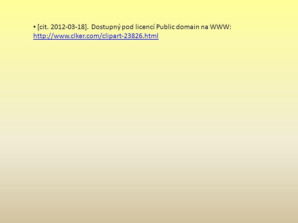 Použitá literatura [cit. 2012-03-18].