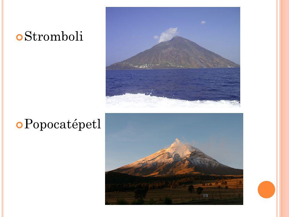 Stromboli Popocatépetl