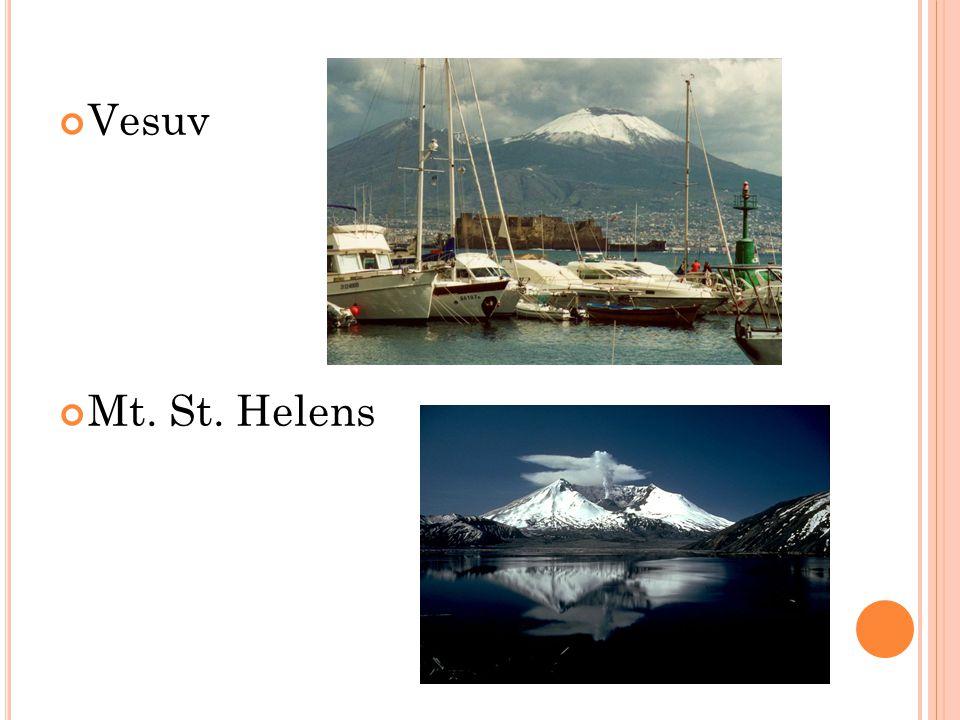 Vesuv Mt. St. Helens
