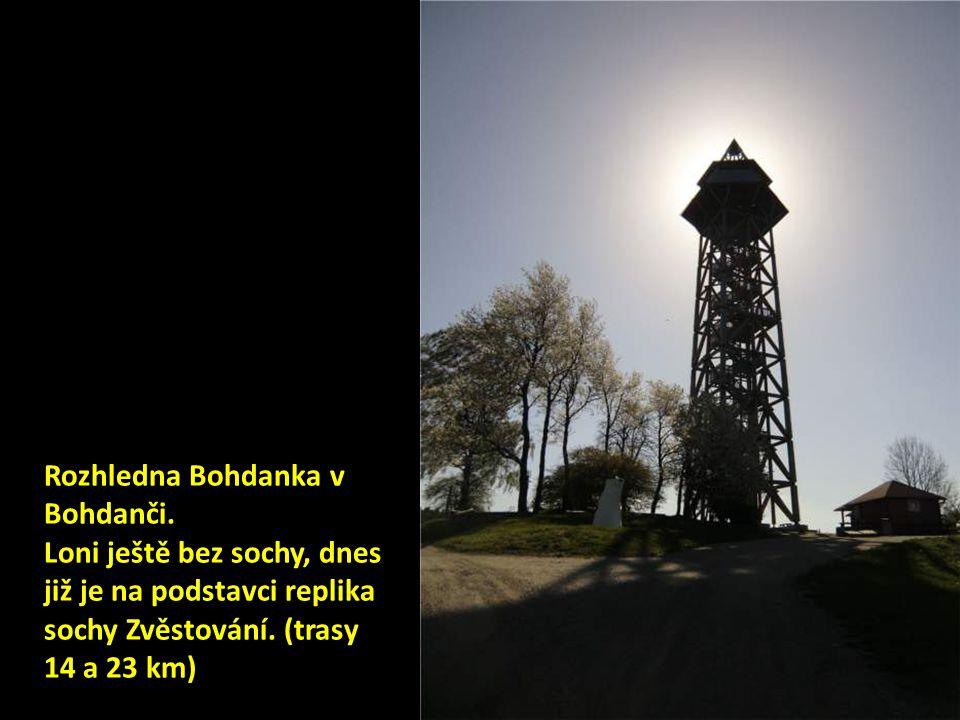 Rozhledna Bohdanka v Bohdanči.