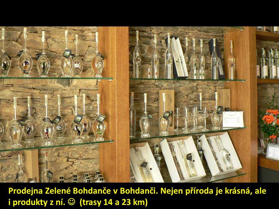 Prodejna Zelené Bohdanče v Bohdanči. Nejen příroda je krásná, ale i produkty z ní.