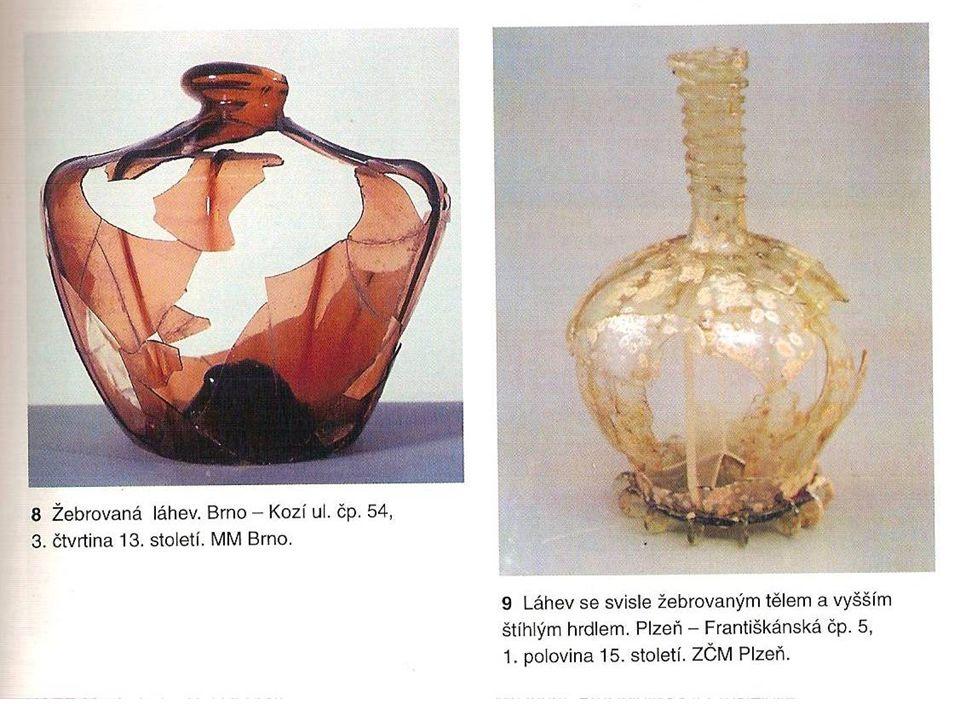 skleněných nádob