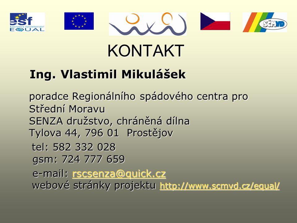 KONTAKT Ing. Vlastimil Mikulášek Ing.