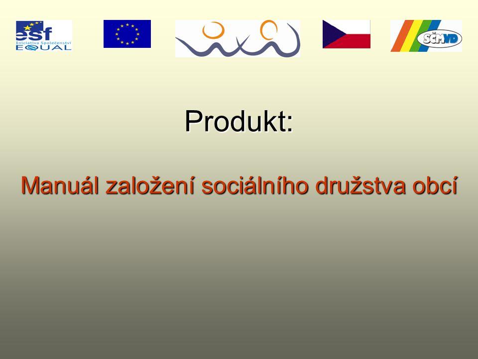 Manuál založení sociálního družstva obcí Produkt: