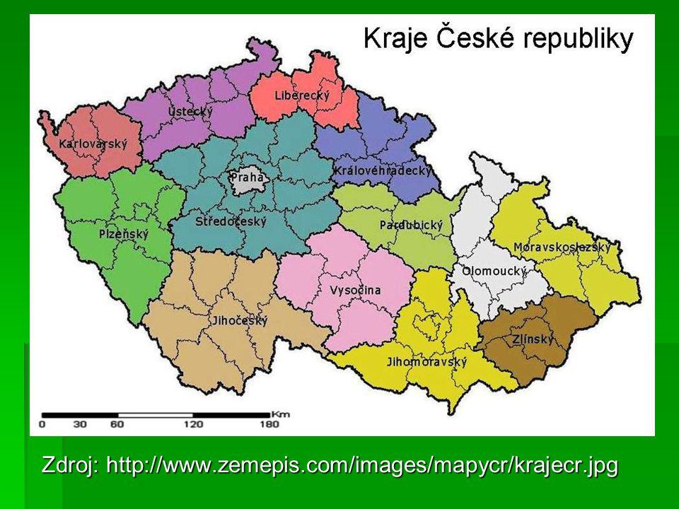 Zdroj: http://www.zemepis.com/images/mapycr/krajecr.jpg
