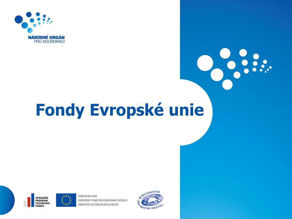 1 Fondy Evropské unie