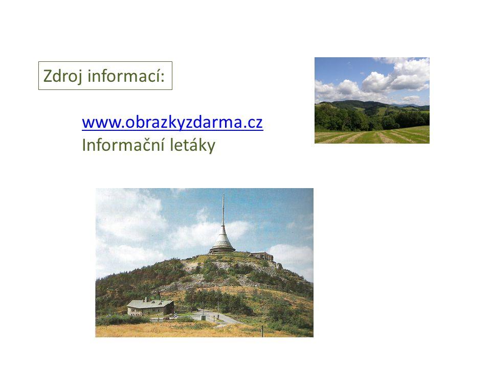 Zdroj informací: www.obrazkyzdarma.cz Informační letáky