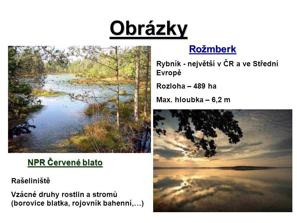 Obrázky Zámek Hluboká - leží nad Vltavou ve městě Hluboká nad Vltavou - patří k turisticky nejatraktivnějším památkám v Česku - původně byl založen jako strážný hrad v polovině 13.