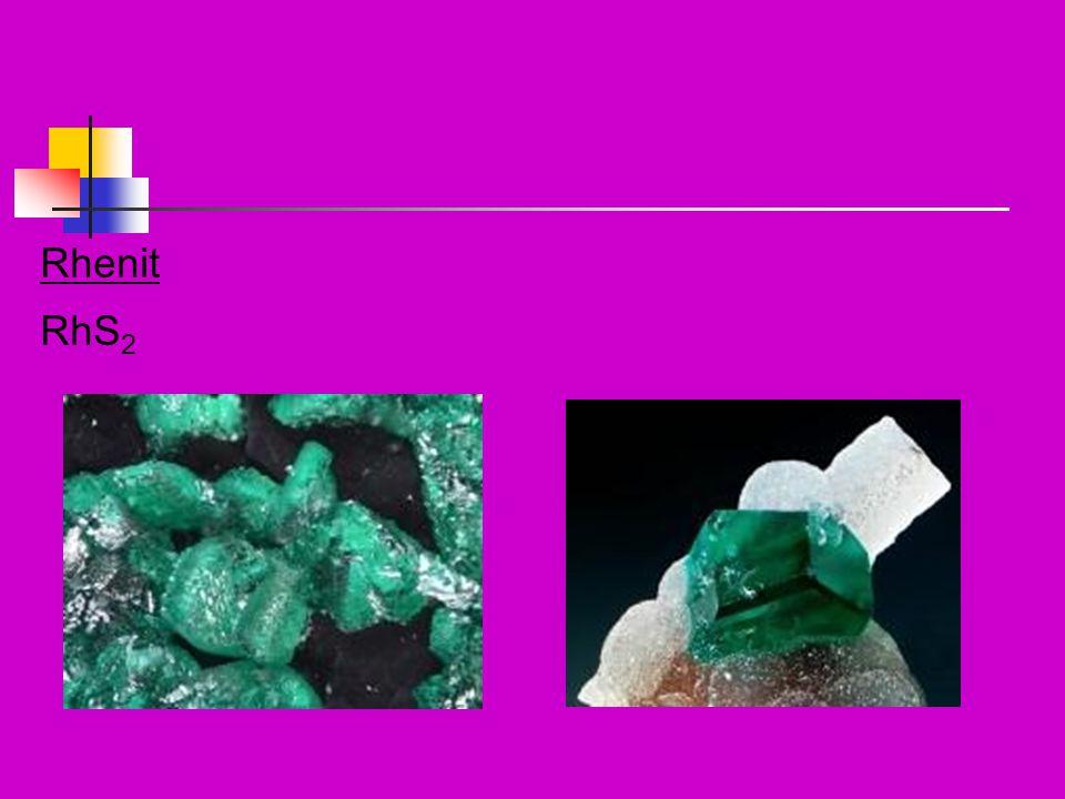 Vlastnosti Odolný vůči většině minerálních kyselin (v ý j i mka-HNO 3 ) Nereaguje s N ani H Sloučeniny nejčastěji v ox.číslech IV a VII Jeho sloučeniny se podobají nejvíce vlastnostem Mn