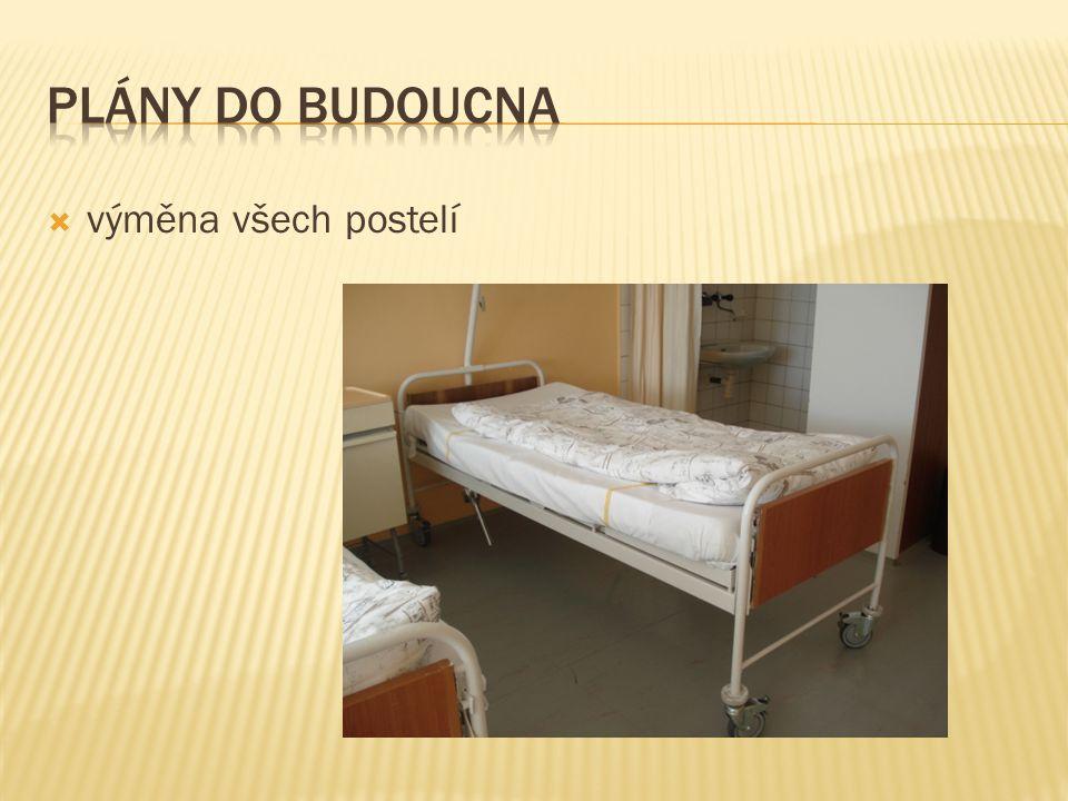  výměna všech postelí