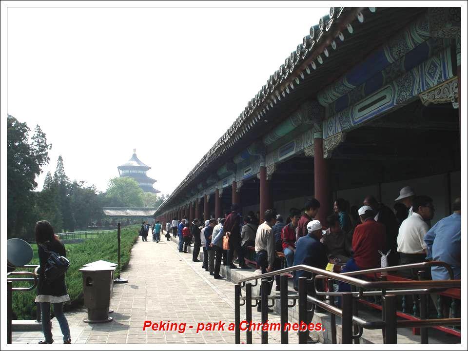 Xi an - Pagoda divoké husy. Byla postavena jako úložiště dávných historických textů.