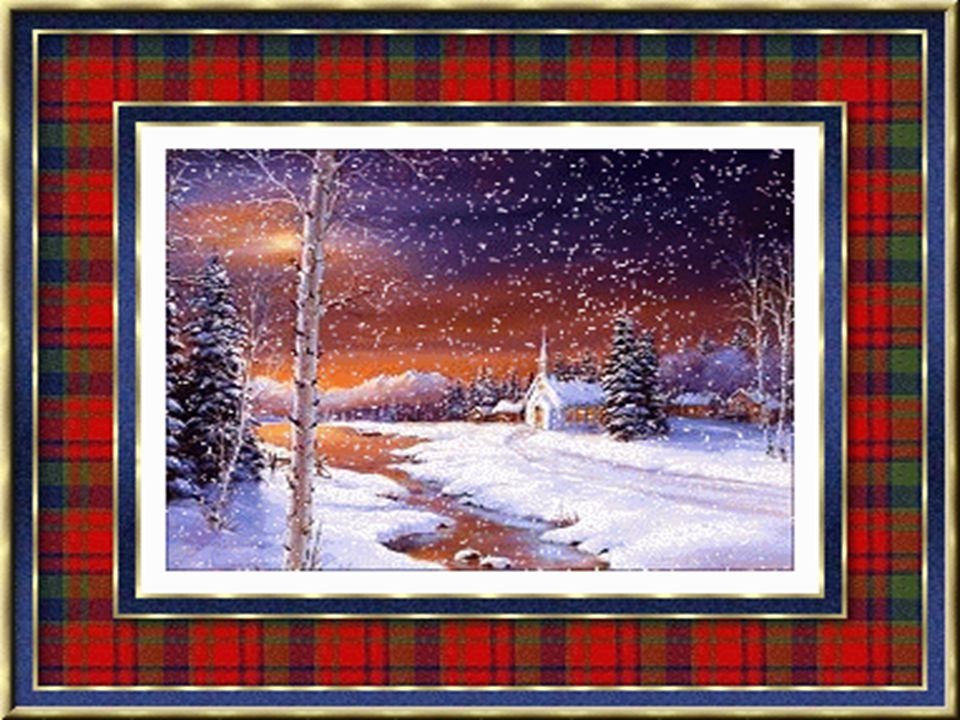 Z oblohy se sypou hvězdičky. Slyšet je koledy z dáli. Zvěstuje anděl maličký. Ať splní se vše, co k vánocům jste si přáli.
