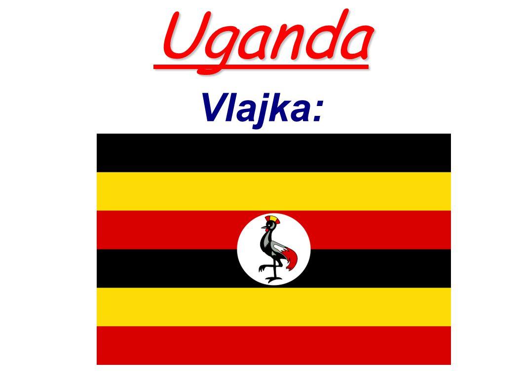 Uganda Uganda Vlajka: