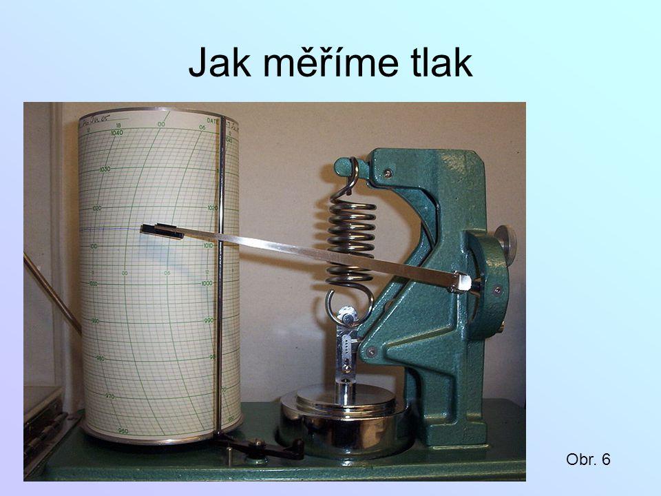 Jak měříme tlak Obr. 6