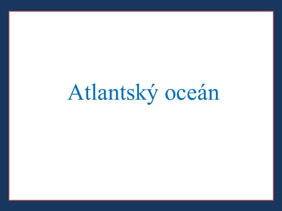 a) Zopakujte si: Atlantský oceán neomývá pobřeží a)Ameriky b)Afriky c)Asie