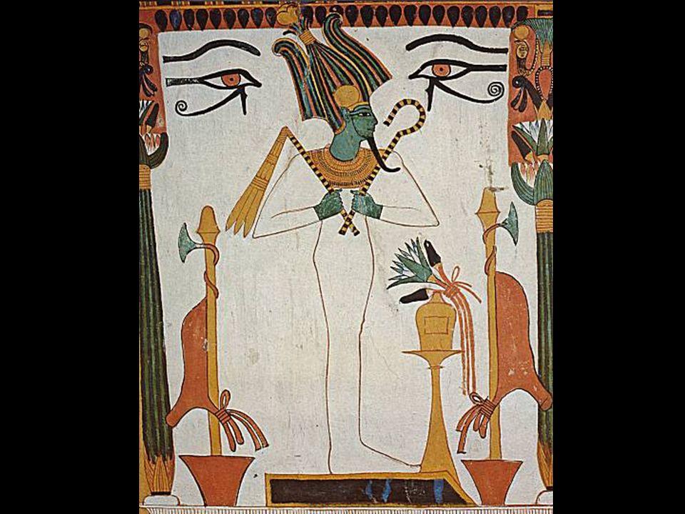  lidé si však důsledky svých činů uvědomili a prchli před hněvem boha Re do pouště  Hathor je následuje a ničivou sílou vraždí v podobě zuřivé lvice lačnící po krvi  lidstvo je téměř vyhlazeno  Hathor se před Reem dme pýchou nad masakrem, prahne po další krvi  Re se však slituje nad zbytkem lidstva, upustí od pomsty  krvelačnost Hathor se však zcela vymkla kontrole – bohové mají na záchranu lidí čas do rána, než se H.
