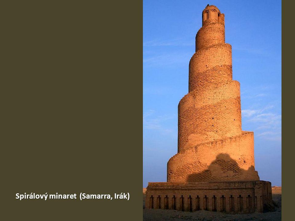 Spirálový minaret (Samarra, Irák)