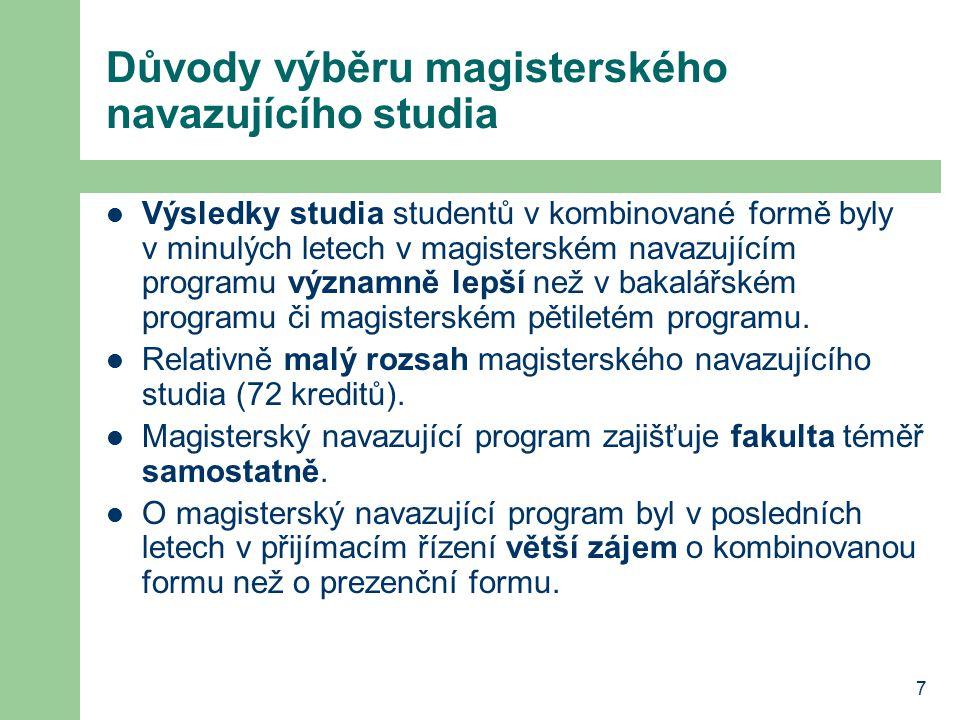 18 Metodika studia vzorový studijní plán obsahuje na semestr 14 – 15 kreditů učební pomůcky na CD (systém objednávání na fakultě a nákupu v prodejně skript) stanovení harmonogramu studia jednotlivých předmětů