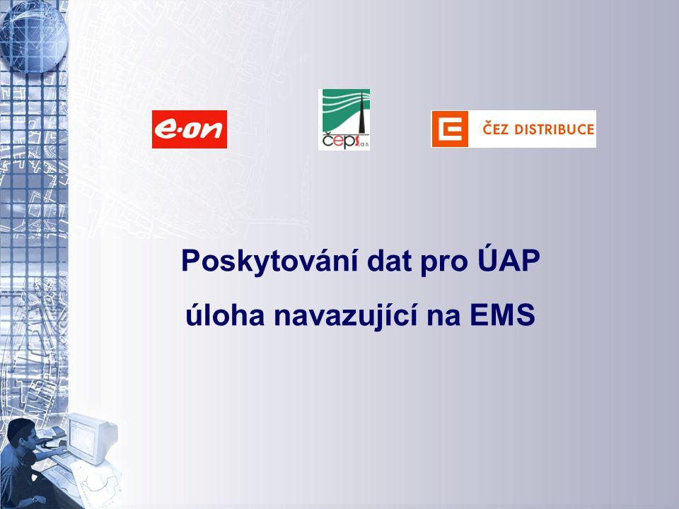 Úvodní stránka - partner v digitálním světě Poskytování dat pro ÚAP úloha navazující na EMS