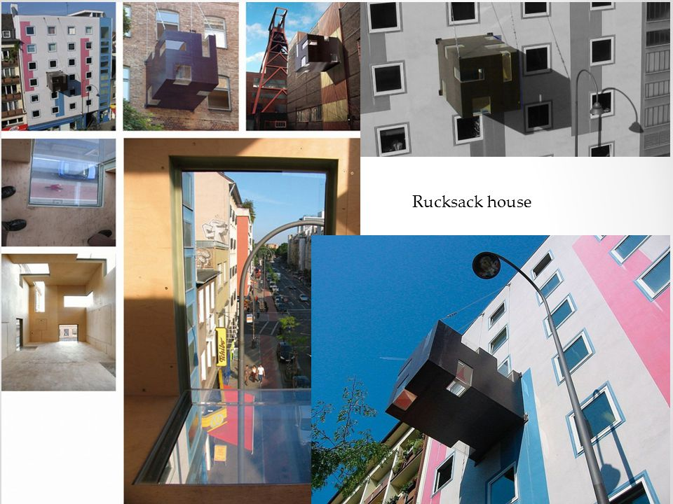 Vztah bytu a okolního prostředí Co je důležité.