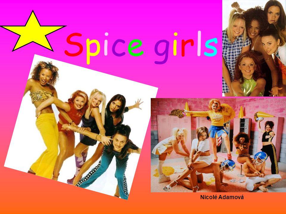 Členky skupiny Spice girlsSpice girls