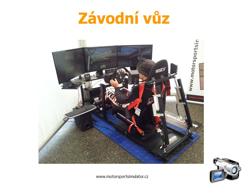 Závodní vůz www.motorsportsimulator.cz