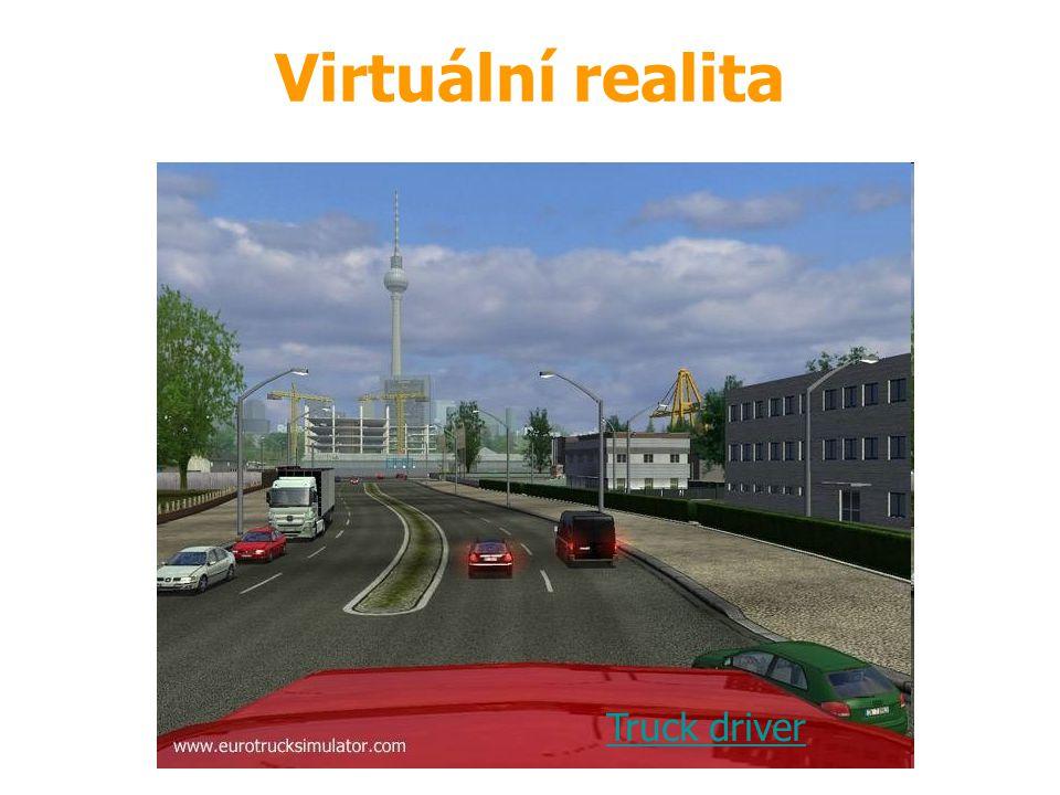 Zdroj: demohry Truck driver Virtuální realita