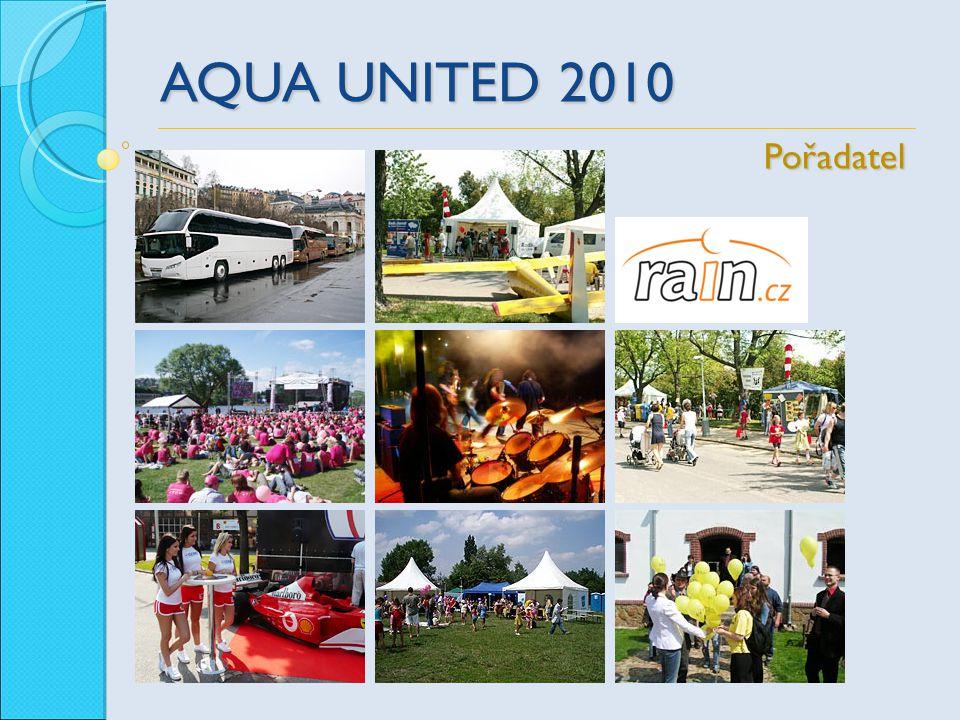 AQUA UNITED 2010 Pořadatel