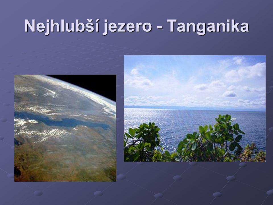 Nejhlubší jezero - Tanganika