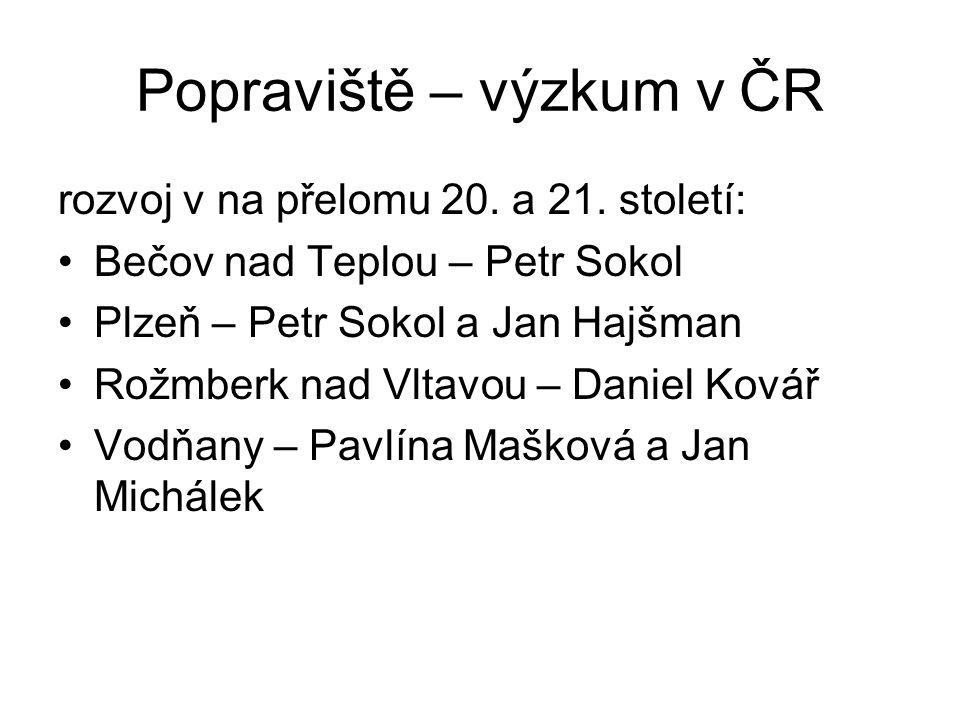 Popraviště – výzkum v ČR rozvoj v na přelomu 20.a 21.