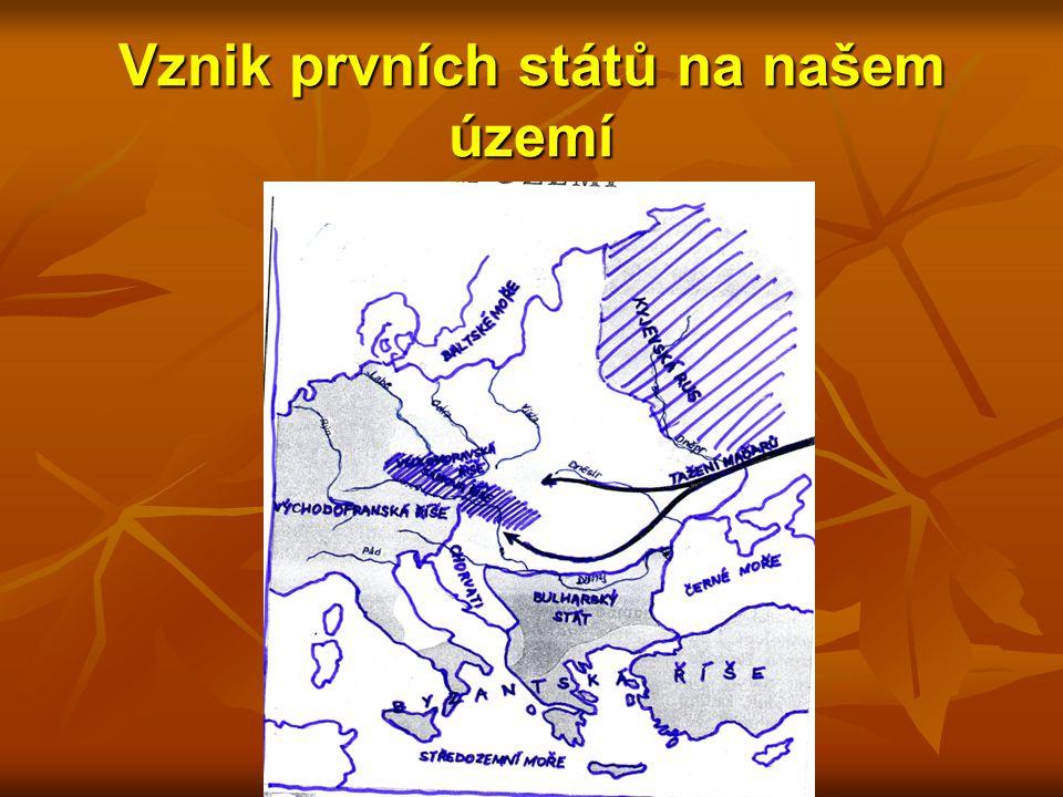 Vznik prvních států na našem území