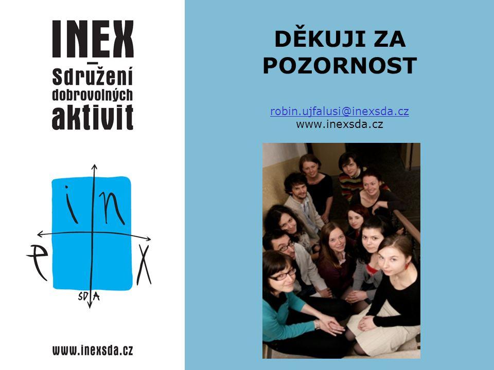 DĚKUJI ZA POZORNOST robin.ujfalusi@inexsda.cz www.inexsda.cz robin.ujfalusi@inexsda.cz
