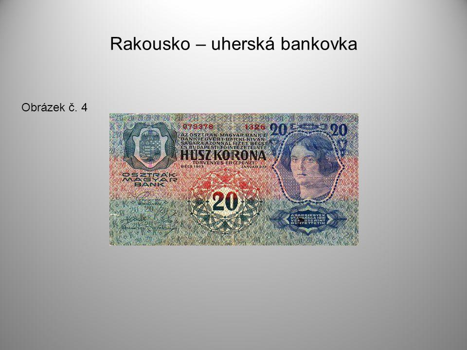Rakousko – uherská bankovka Obrázek č. 4
