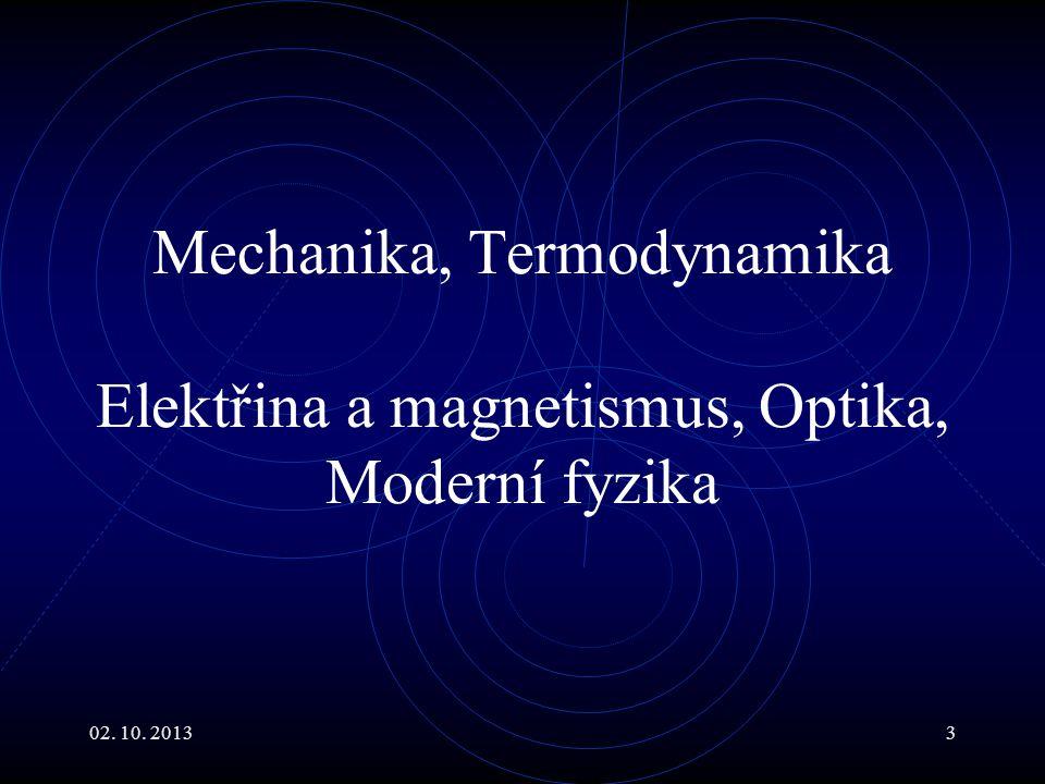 02.10. 201314 Základní jednotky - metr Původně 10 -7 kvadrantu Země.
