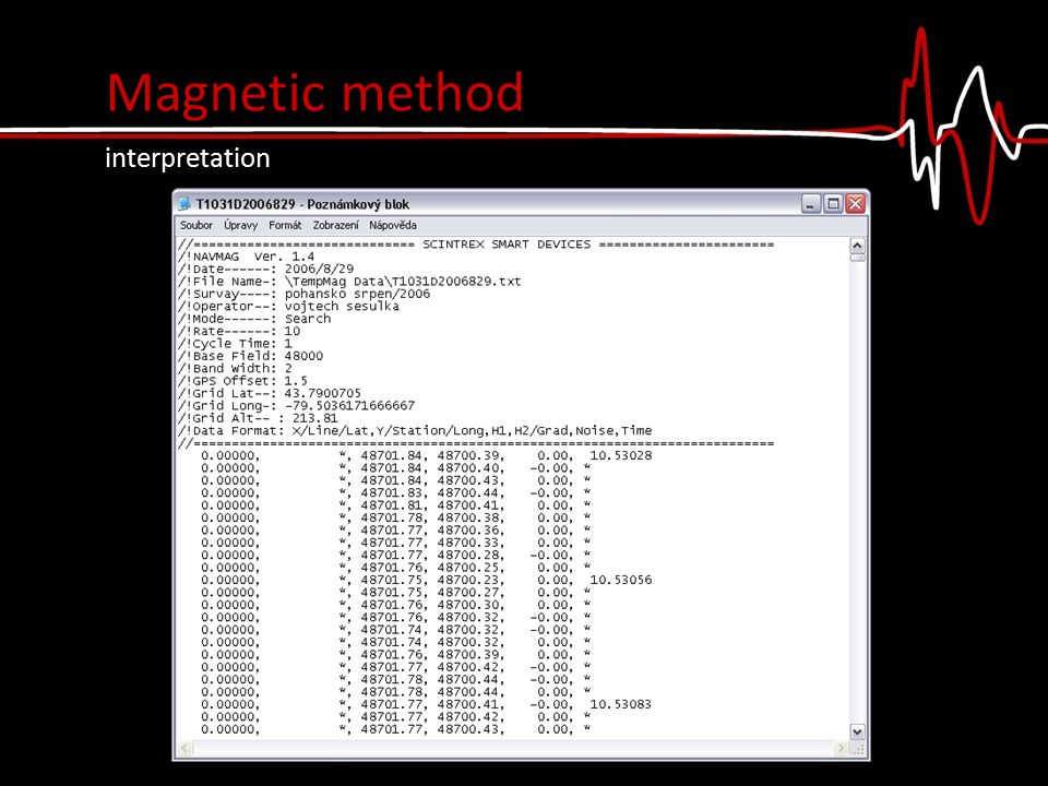 Magnetic method interpretation