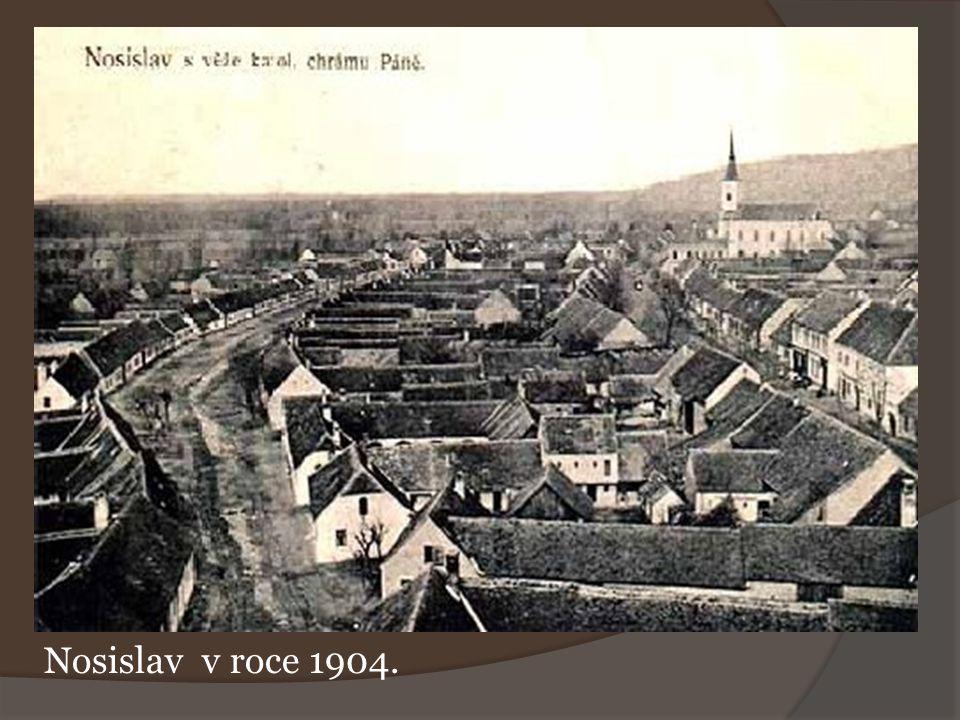 Nosislav v roce 1904.