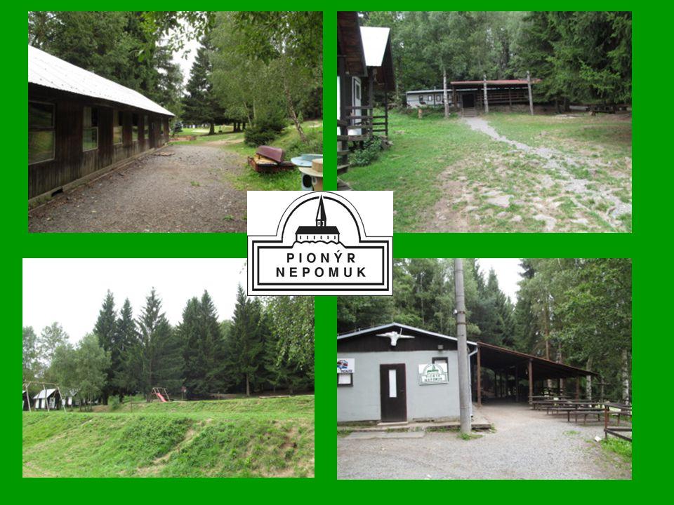 Naše tábořiště Pionýrské skupiny Nepomuk v Přebudově