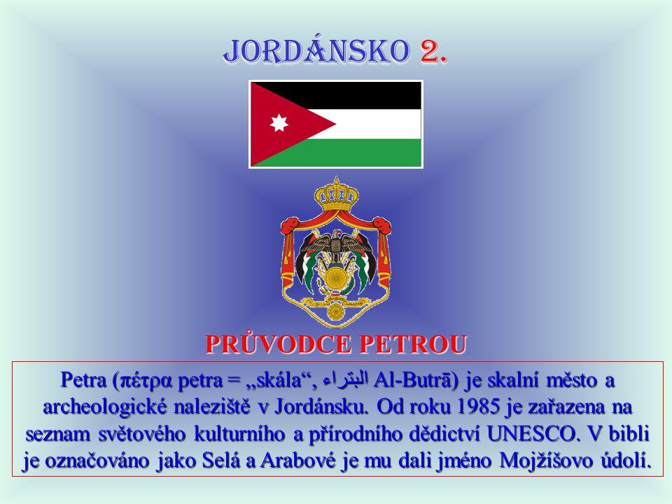 JORDÁNSKO 2.