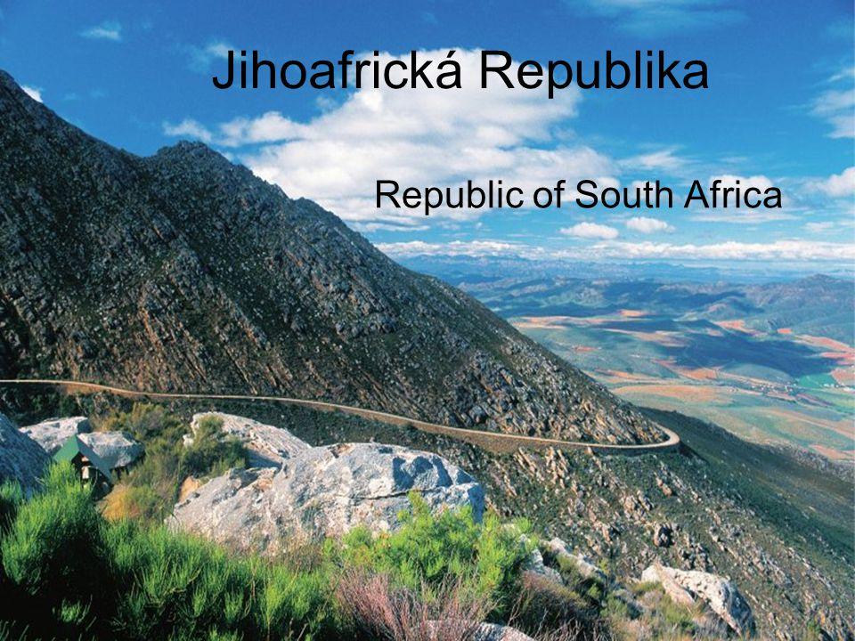 Jihoafrická Republika Republic of South Africa