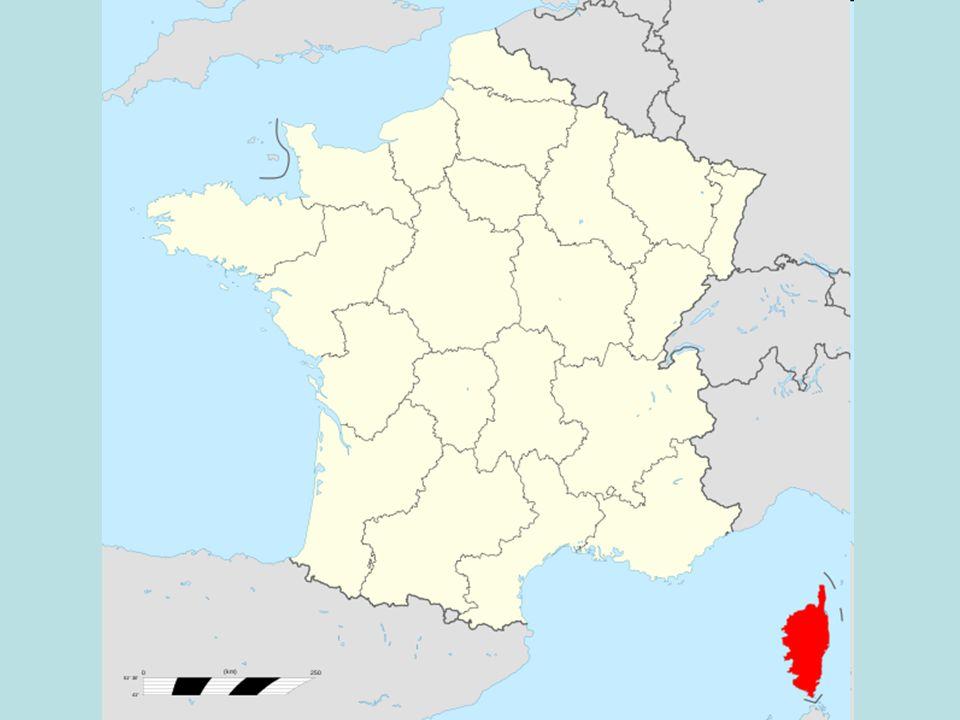Korsika je ostrov ležící v západním Středozemním moři spadající pod správu Francie.