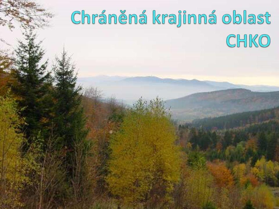 Pohraniční pohoří od domažlické části Českého lesa po Dyleňský les.